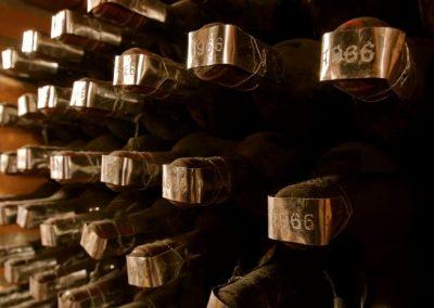 Produzione bottiglie Castello di Querceto Greve in Chianti