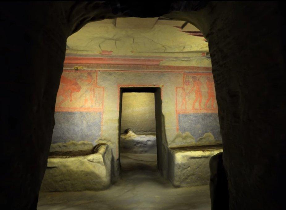 Tomba della Scimmia - Castello di Querceto