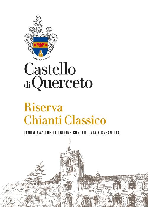 Chianti classico riserva - Castello di Quercetoetichetta-per-sito
