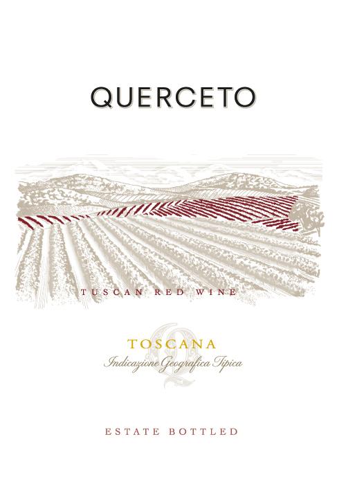 Igt Toscana Tuscan Red Querceto - Castello di Querceto